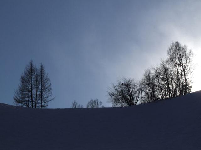 スキー場はコンディショングー
