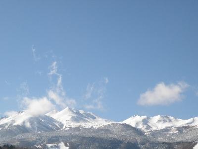 冬晴れの乗鞍岳