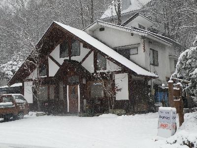 もう雪です。