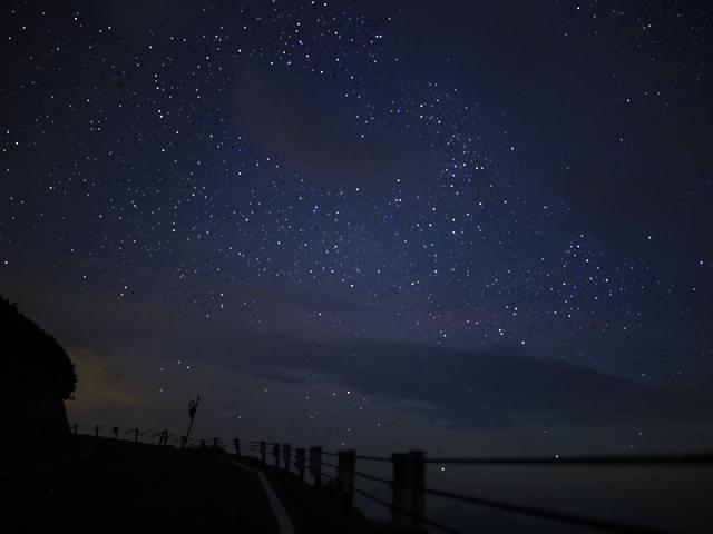 星空とご来光